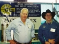Buck working at the Expo